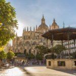 Plaza Mayor Segovia, Spain