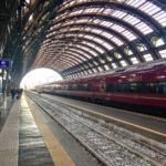 Italo high-speed train in Milan, Italy