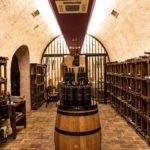 Wine cellar at Hotel Callado.