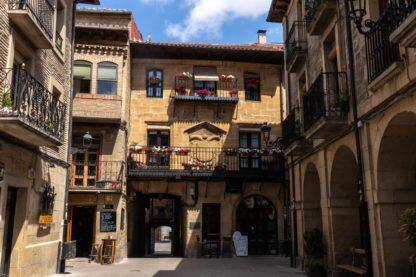 Town hall of Laguardia, Spain