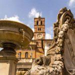 Piazza Santa Maria in Trastevere , Rome