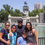 Almaraz family on vacation in Spain with World Travelers Today