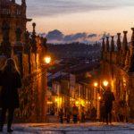 Street photo of Santiago de Compostela, Spain