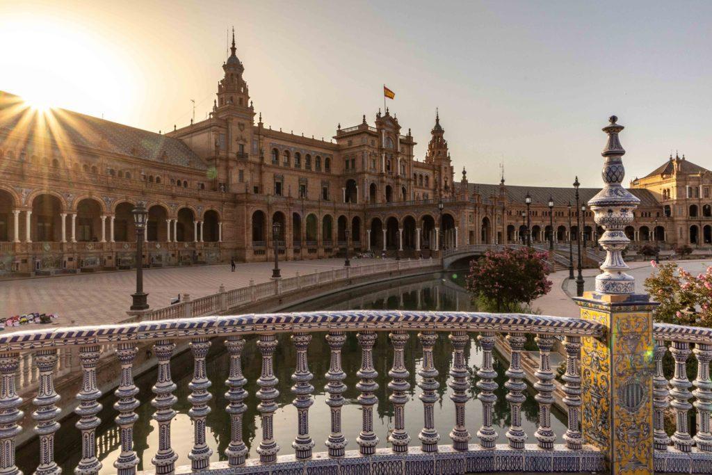 Plaza de Espana in Sevilla, Spain.